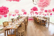 Tissue Pom Poms / Tissue paper pom poms are so popular at weddings, hang them from your venue ceiling or tie them to the pew ends in your church. However you use our paper pom poms they are sure to add a pop of colour and prettiness!