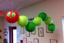 Themed Paper Hanging Lanterns / Want an unusual decoraton at your even or party - why not use our round lanterns and turn them into a character or pinata!