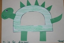 Letter D: Dinosaurs, Ducks, & More / Preschool activities and crafts for the letter D. / by Jackie