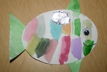 Letter F: Fish, Flags, & More / Preschool activities and crafts for the letter F. / by Jackie
