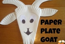 Letter G: Goats, Giraffes, & More / Preschool activities and crafts for the letter G. / by Jackie