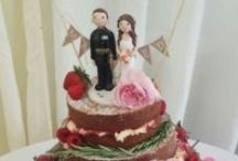 Cake Toppers / Ceramic cake toppers made to match you, perfect for weddings, birthdays and special occasions