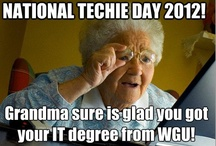 National Techies Day 2012 / by Western Governors University