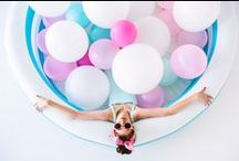 BIG BALLOONS Inspiration! / Ideas for Photo Shoots & Parties! / by Adelina Vazquez