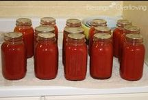 Canning & Preserving / Tips and tutorials for canning, freezing, and preserving food and garden produce. / by Jackie