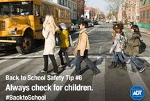 Back to School  / Start the new school year off right! Get helpful tips that ensure that your 180 school days will be safe all year 'round.