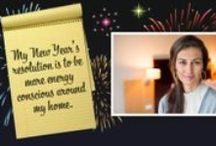 New Years Resolutions 2014 / Whether looking to better yourself, your home, or your family this #NewYear - make it safe. Use these tips to help make #2014 the safest year yet! / by ADT