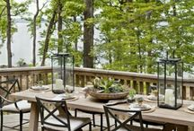 al fresco... / Outdoor living / by Kelley Rogge