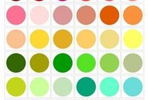 color pallette collection / by Caroline Elise Johnson