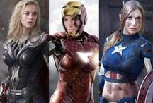 Cosplay Photo Inspiration / Images of various aspects and components of Cosplay characters.  I'm using this board as research for compiling ideas on future Cosplay styled shoots.