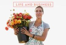 Be the face of your business / Tried & tested tips & strategies that will help you successfully brand and market your product. Sign up for our newsletter for more flower-filled ideas, information and inspiration: http://www.floretflowers.com/newsletter/ / by Floret Flower Farm