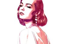 Fashion Illustration / Fashion Illustation   These beautiful drawings & paintings of all things stylish are artwork in their own right.