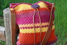 Crochet - purses, bags / by Becky Hebert