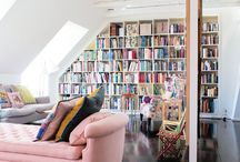 Home - Library / Home Décor / Interior Design Ideas   Library lust central - and some brilliant bookcases for those of us not lucky enough to have a designated reading room.