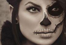 *halloween make up&costumes*
