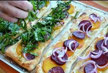 Pretty Pizzas / by Three Many Cooks