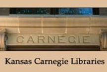 Carnegie Libraries: Kansas / There were 59 public Carnegie Libraries built in Kansas; 47 buildings survive, though few are used as libraries. This board will eventually showcase each library that still exist as of 2014. All photos on this board are original by the author, except where noted. Also, images of historical pictures and postcards are included in some pins.