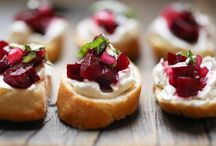 COOK : appetizers / Recipes for appetizers  / by Jennifer M.
