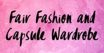 Fair Fashion and Capsule Wardrobe