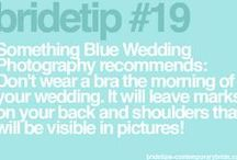 Wedding Tips / Bride tips from Contemporary Bride to make your wedding day stress free.