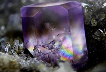 Earth Rocks and Crystals.