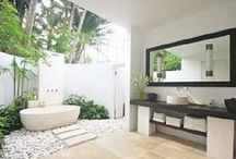 Bath design / My clients tastes, my tastes, but hopefully no cookie cutter here!!! / by Holly Ferguson FFE OSE