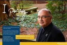 I Pray / I Pray is a set of photographs demonstrating how personal prayer animates our public mission as a Jesuit Catholic university.