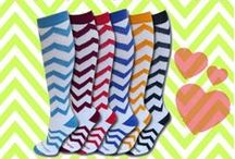 Funky, Sporty Socks / #SportsKatzSocks -- Cheerleading, Dance, Softball, Lacrosse, Breast Cancer, Soccer, Equestrian, Volleyball, Gymnastics, Swimming, neon, knee-high, autism, bumble bee socks, lady bug socks, st. patricks day socks, camo socks and much more!