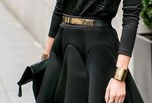 • Fashion • in • Black • / Your style and fashion in black