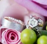 Engagement Rings / Engagement and wedding band inspirations