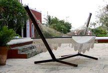 Hamacas MX Bases de madera / Hamacas Mexicanas Bases de madera