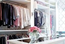 // Closets / So much closet envy going on right about now.