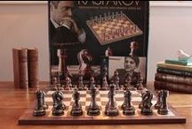 Chess Sets / Great chess sets and pieces. Solid wooden chess sets and boards and all great quality.