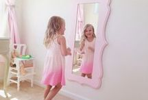 Blooms in Girls' Rooms / The Organic Bloom frames are perfect your little princess!