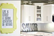 Blooms in Kitchens / Another place that deserves some fabulous decor!