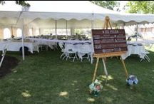 Tent Options / Additional Guest Seating / by Hoosier Grove Barn