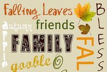 Fall-Crafts & Holiday / by Corby N
