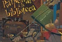 La Biblioteca als llibres / En motiu del Dia de la Biblioteca, el 24 d'octubre, us presentem una selecció de llibres on les protagonistes són les biblioteques, els llibres i la gent que hi treballa. Esperem que us agradi.