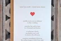 wedding ideas / Original wedding invitation cards & ideas