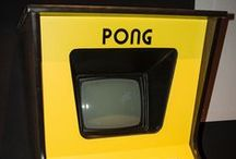 PONG - 1972 / PONG, the grand-daddy of video games