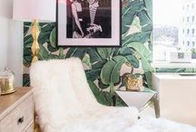 She lives in style! / Home decor with style