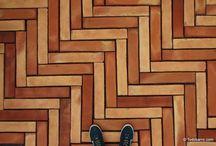 Designs of terracotta floor tiles / Designs of terracotta floor tiles by Todobarro / diseños de suelos de barro por Todobarro