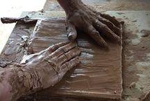 Handmade terracotta tiles / Handmade terracotta tiles  / Suelos artesanales de barro