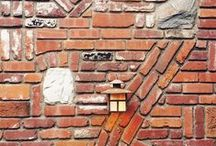 Exposed brick walls / Exposed brick walls / Muros y paredes de ladrillos vistos