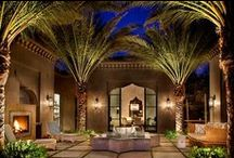 Patios & courtyards