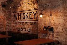 Restaurants & brick walls / Restaurants with exposed brick walls / Restaurants con paredes  y muros de ladrillos vistos.