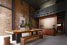 Lofts & brick walls / Lofts with exposed brick walls / Lofts con muros y paredes de ladrillos vistos