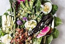 Salads / My favorite salads that are vibrant and delicious!  Fall salads, winter salads, summer salads, spring salads and everything in between!