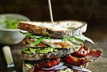 Sandwiches / Big and beautiful sandwiches that make your mouth water!