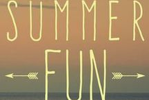Summer Fun = Some More Fun / The last days of summer are here. Gifts, recipes and ideas for some more summer fun!